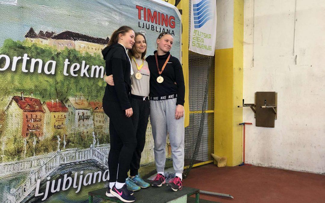 Finale OŠ Ljubljane v dvoranski atletiki